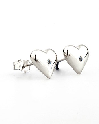 Lily & Lotty Belle Earrings - Sterling Silver with Genuine Diamond
