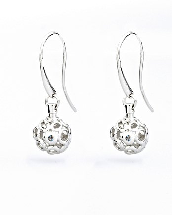 Lily & Lotty Chloe Earrings - Sterling Silver with Genuine Diamond