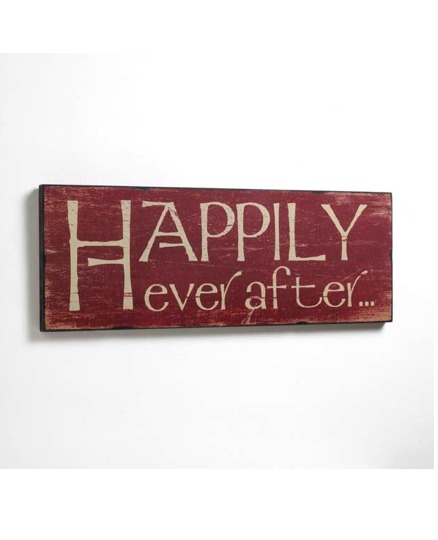 Happily Ever After Room Sign
