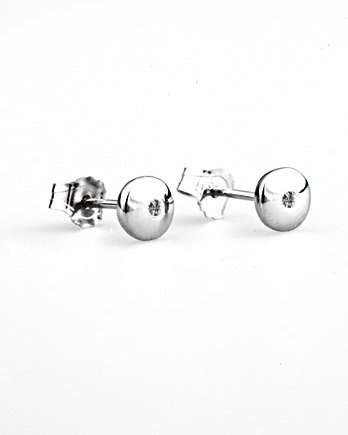 Lily & Lotty Tia Earrings - Sterling Silver with Genuine Diamond